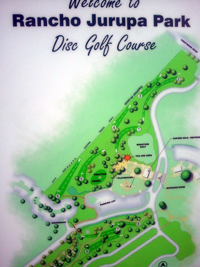 Rancho Jurupa Disc Golf Course This Week in California History