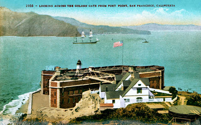 Fort Point postcard