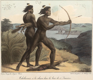 Ohlone Indians drawn by Louis Choris (1816)