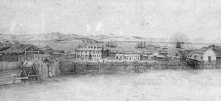 Portsmouth Square, 1849