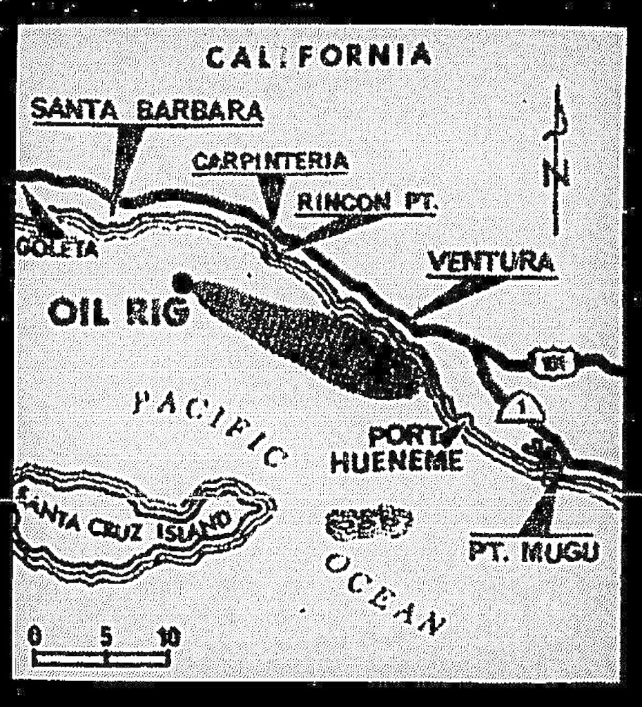 Santa Barbara Oil Spill, 1969