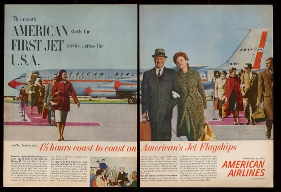 American Airlines magazine in 1959