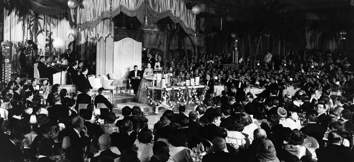 Academy awards banquet 1929