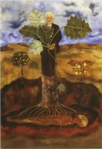 Portrait of Luther Burbank by Frieda Kahlo (1931)