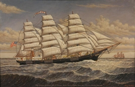 Clipper ship Andrew Jackson.