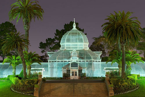 Golden Gate Park Conservatory of Flowers.