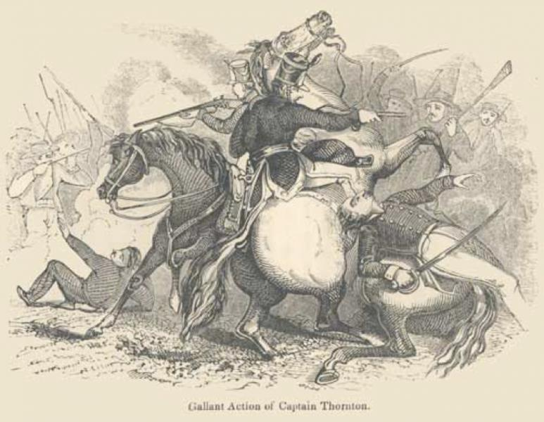 There were 11 major battle of the Mexican American war the first one was the Thornton Affair (1846).