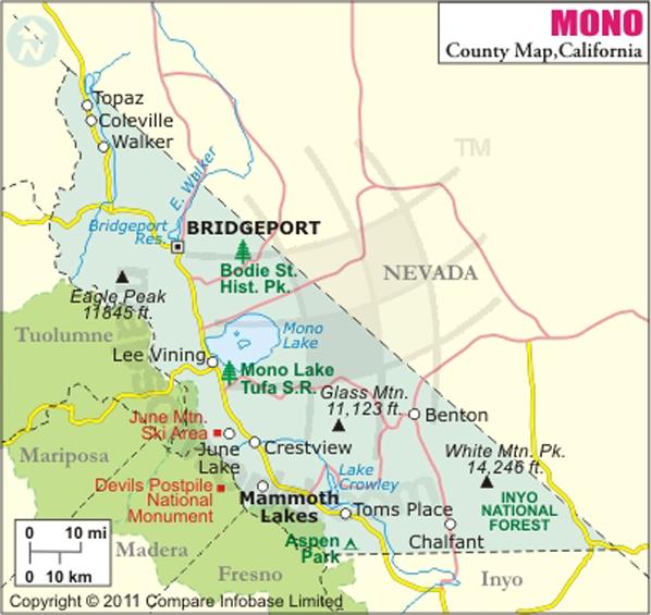 Government Of Mono County California