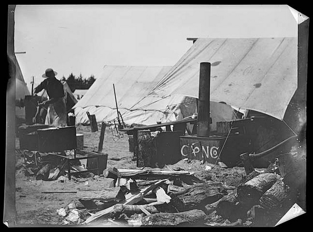 Camp Merritt, San Francisco. Courtesy California Historical Society.
