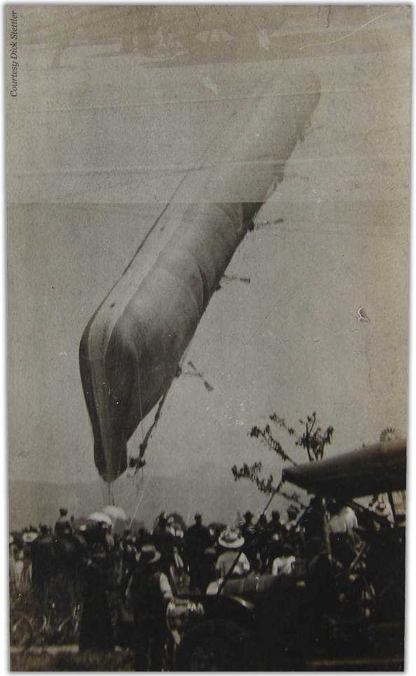 Morrell Airship Collapse (1908).