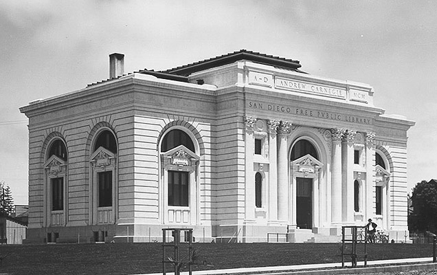 San Diego Public Library, Andrew Carnegie Library.