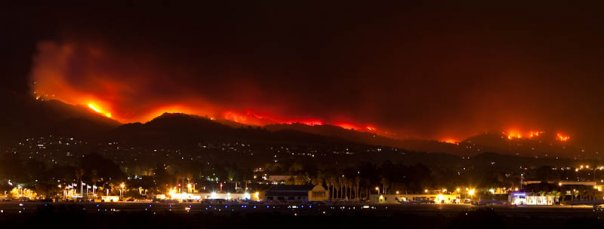 Jesusita Fire (2009). Courtesy of Brian Meek.