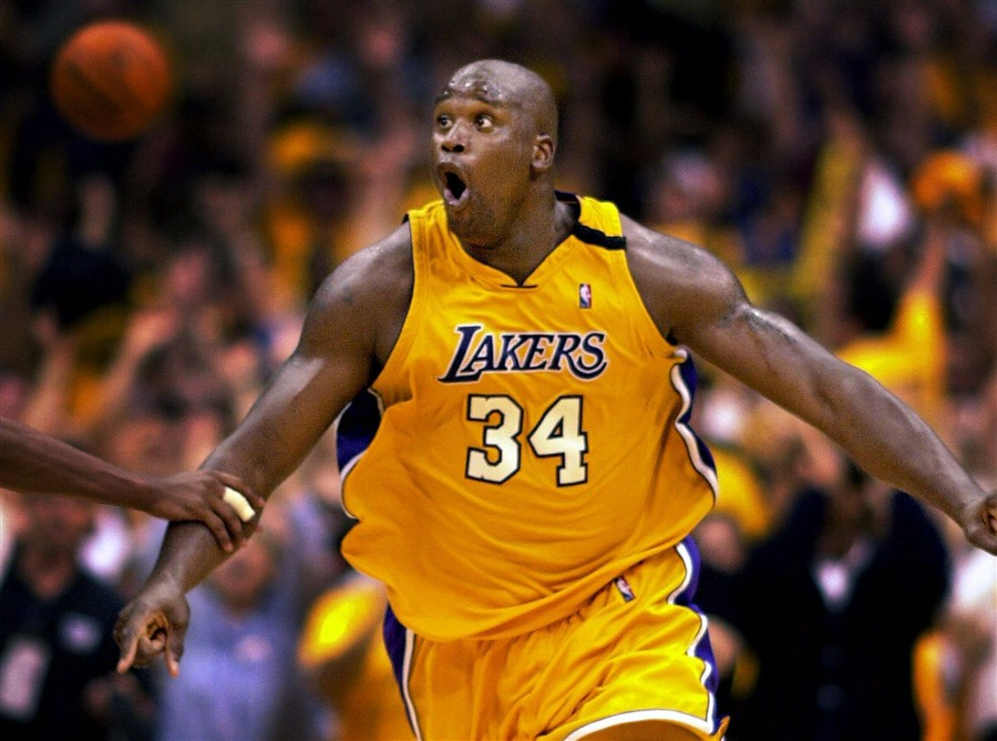 Shaquille O'Neal (2000).