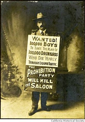 Undated portrait from the prohibition era in San Francisco. Courtesy the California Historical Society.