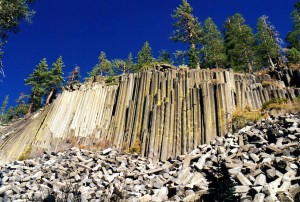 Devils Postpile National Monument.