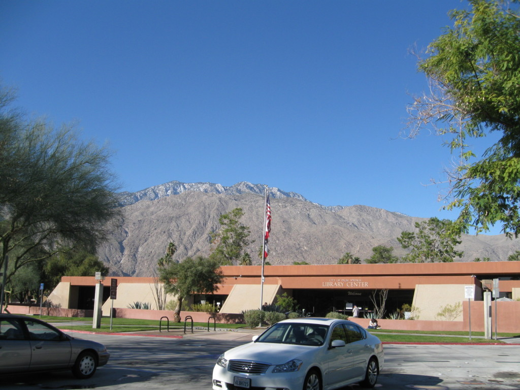 Palm Springs Public Library.