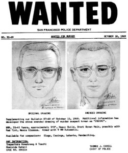 Zodiac Killer composite drawing (1982).