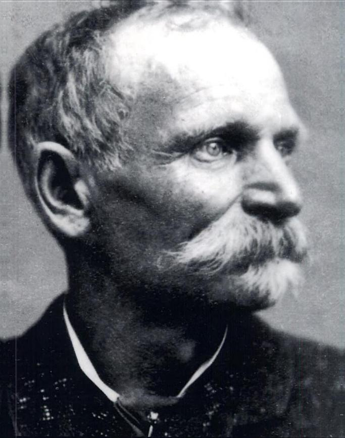 Charles Bowles, also known as Black Bart.