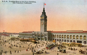 San Francisco Ferry Building (1915).