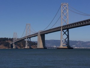 San Francisco - Oakland Bay Bridge eastern span.