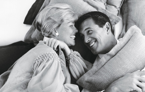 Rock Hudson and Doris Day (1959).