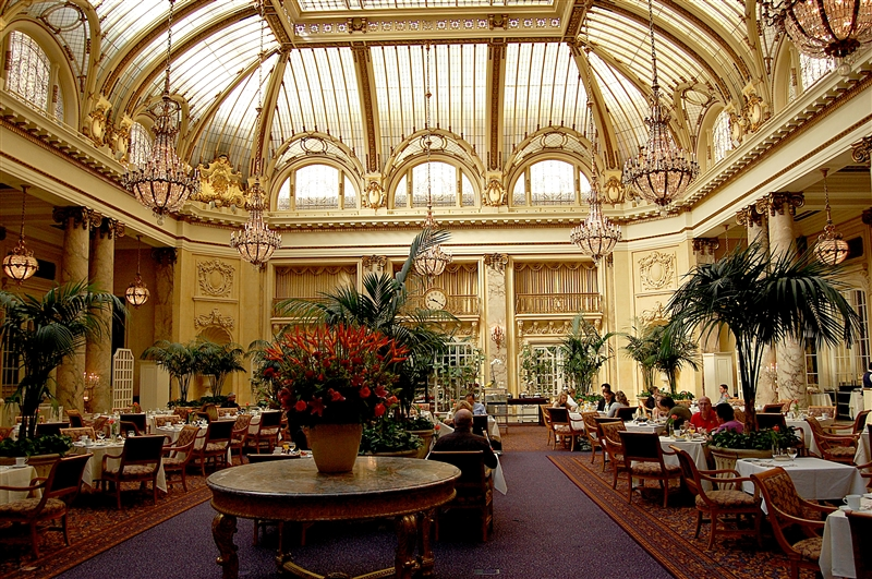 Palace Hotel, Palm Court.