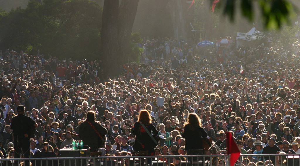 Hardly Strictly Bluegrass.