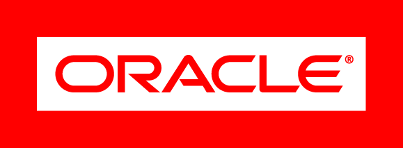 Oracle logo.