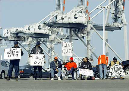 Port of Oakland lockout (2002).