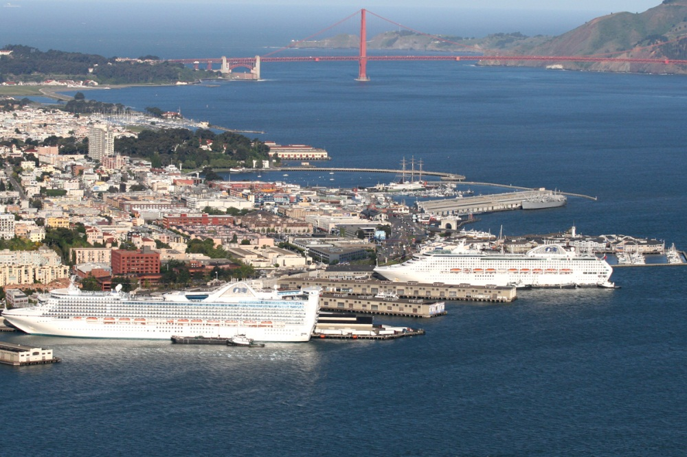 San Francisco port.