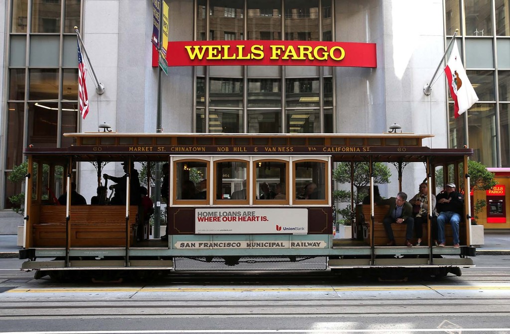 Wells Fargo Bank, San Francisco.