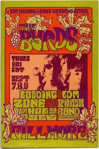 Byrds at the Fillmore West (1967).