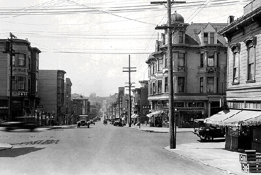 San Francisco, Western Addition (1927).
