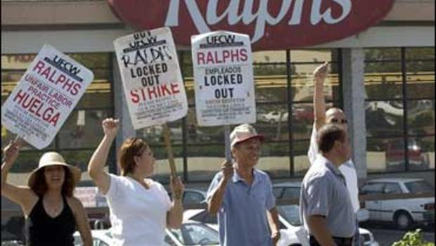 Grocery workers strike (2003).