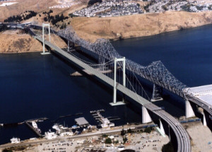 Carquinez Bridge.