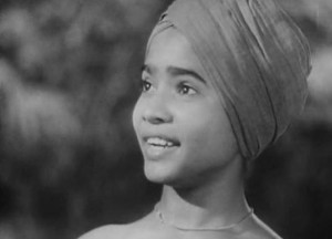 "Sabu Dastagir in ""Elephant Boy"" (1939)."