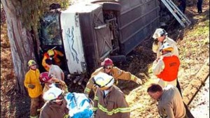 Greyhound bus crash (2005).