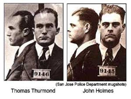 Thomas Thurmond and John Holmes.