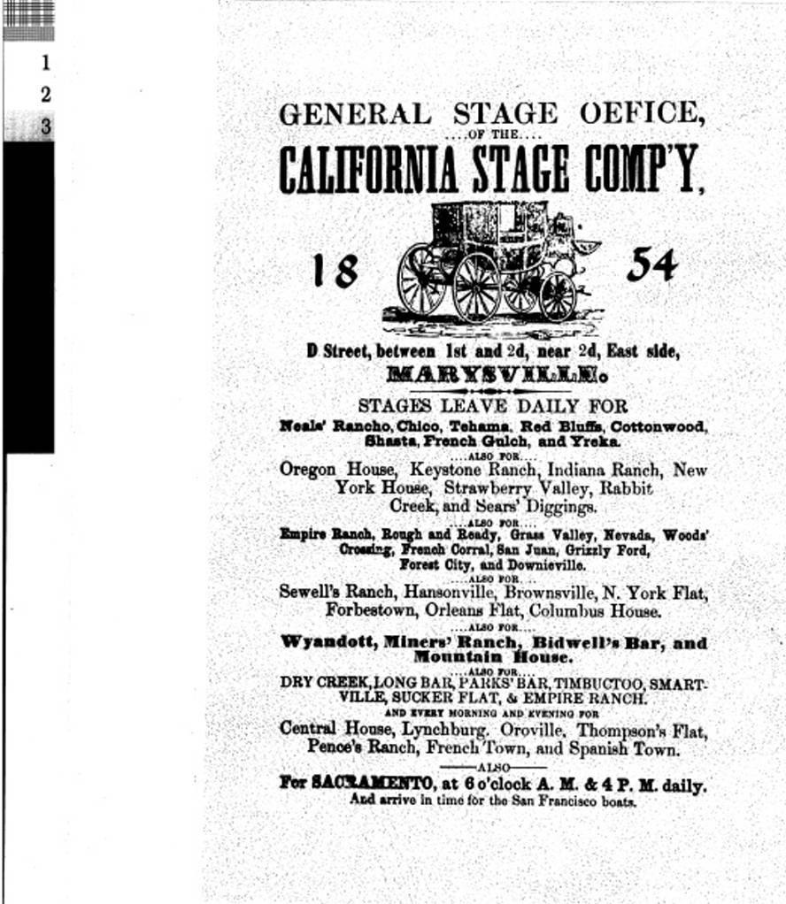 California Stage Company (1854).