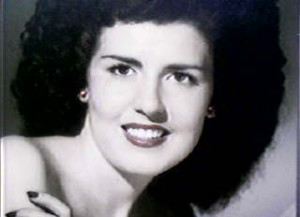 Elizabeth Short, known as the Black Dahlia.