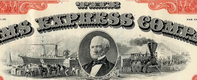 Adams Express Company.