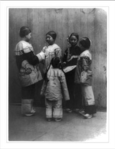 Slave girls rescued in Chinatown.