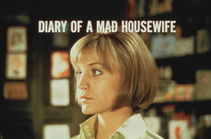 "Carrie Snodgress in ""Diary of a Mad Housewife"" (1970)."