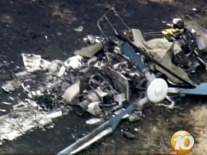 Helicopter crash on Catalina Island (2008).