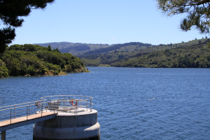 Lower Crystal Springs Reservoir, San Mateo County.