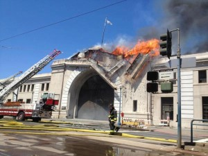 San Francisco Pier 29 fire (2012).