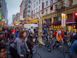 Critical Mass, San Francisco.
