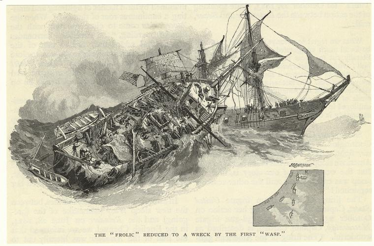 Wreck of the Frolic